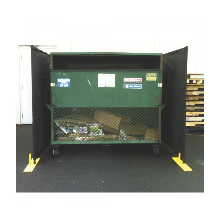 Dumpster Enclosure 3-Sided Panel Kit | Perimeter Patrol