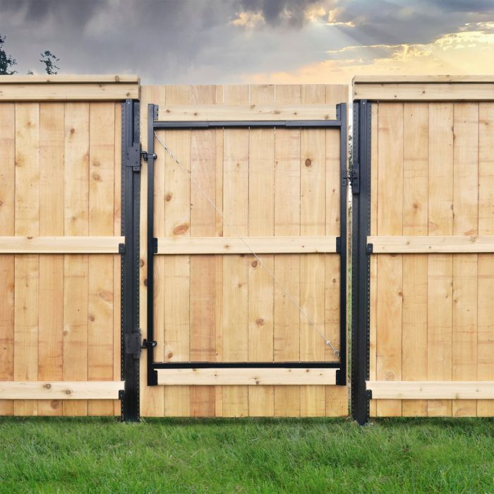 Adjust-A-Gate 3 Rail Contractor Kit 36''-60''|Lifetime Fence