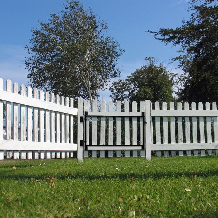 Adjust-A-Gate 2 Rail Front Gate Kit 60''-96''|Lifetime Fence