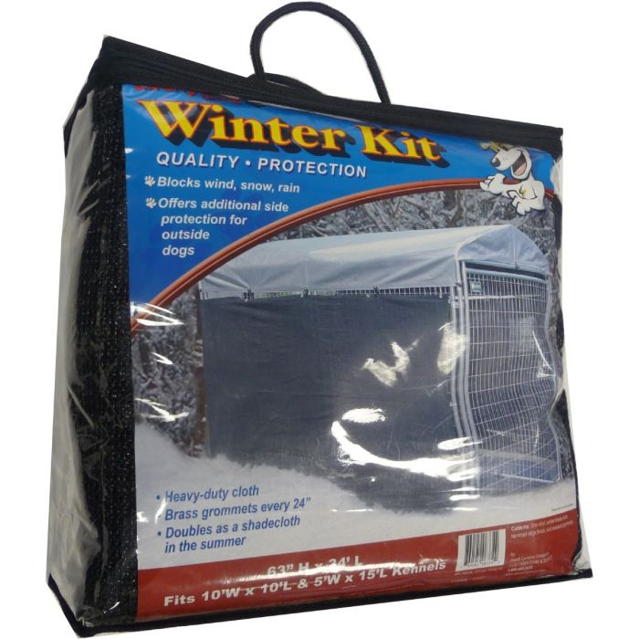Weatherguard XL Shade Cover & Winterization Kit | Lucky Dog