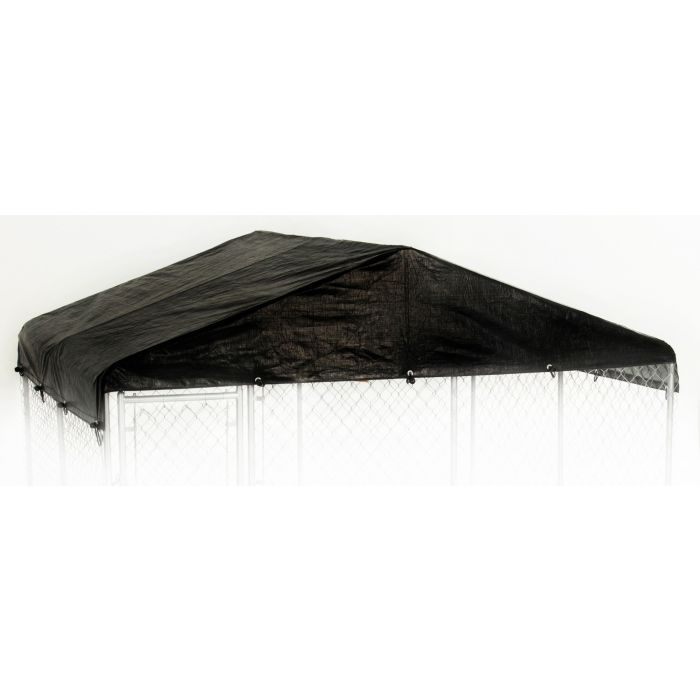 Lucky Dog® 10'W x 10'L Replacement Kennel Cover - Black