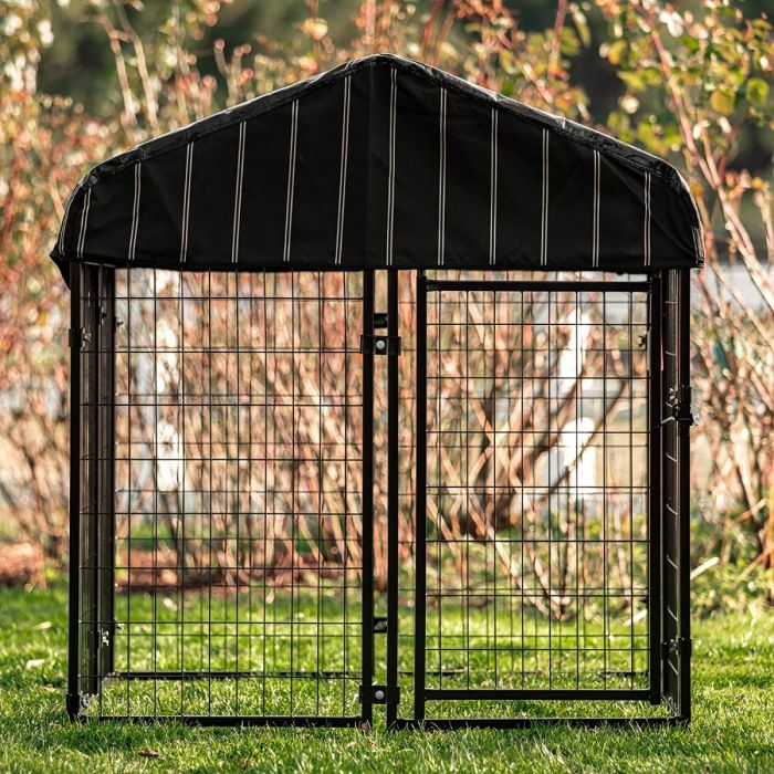 """Pet Resort Welded Wire Dog Kennel 52""""Hx48""""Wx48""""L 