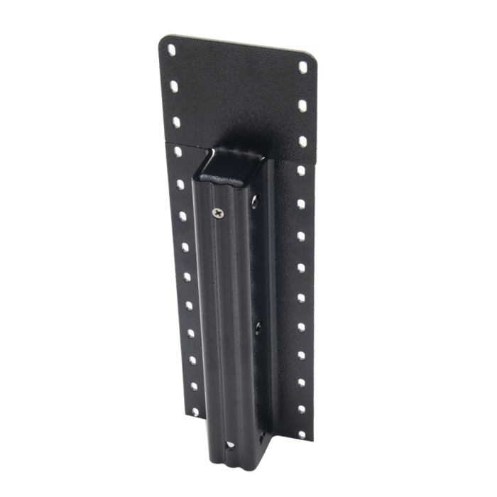 Lifetime Steel Post™ - 9' Black Post with Double Powdercoat Finish