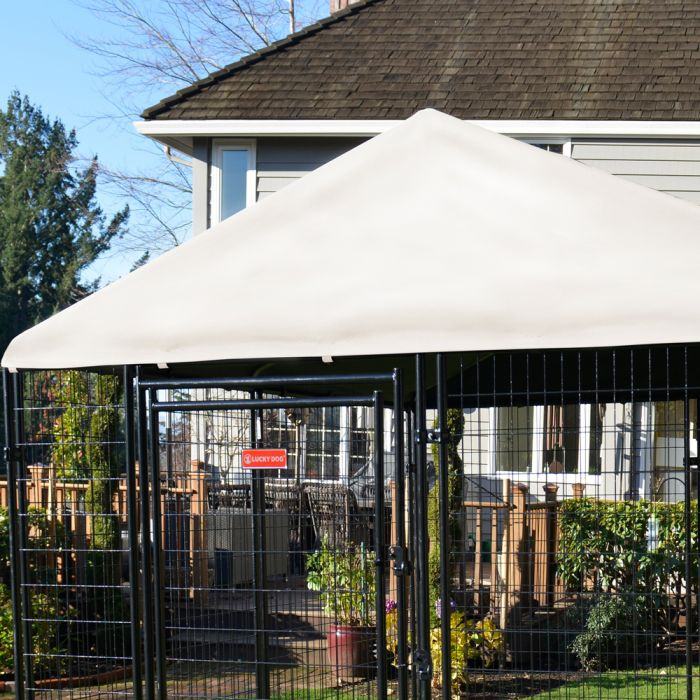 Canopy Presidential Kennel Cover 10'x10'| Lucky Dog