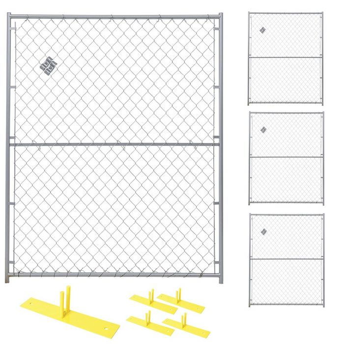 Chain Link Security Fence Panel Kit | Perimeter Patrol