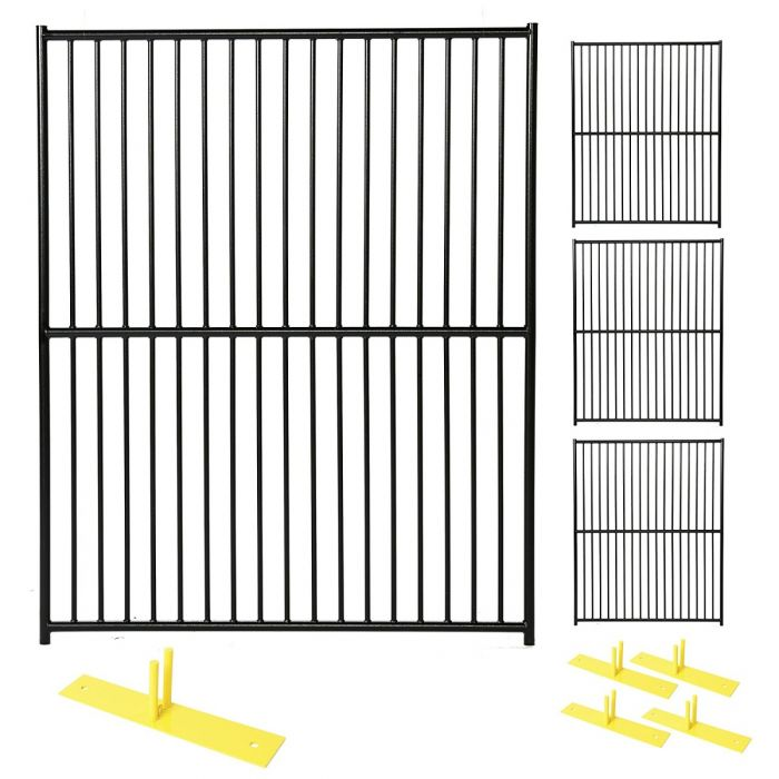 Euro Style Security Fence Panel Kit | Perimeter Patrol