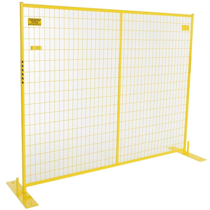 Security Multi-Panel Yellow Fence Kits | Perimeter Patrol