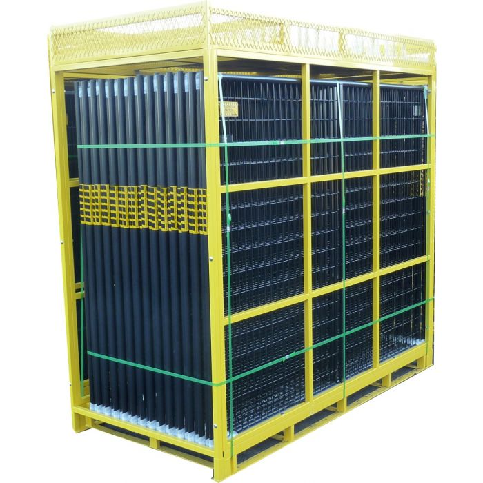 Full Pallet Temporary Security Fence Kit | Perimeter Patrol