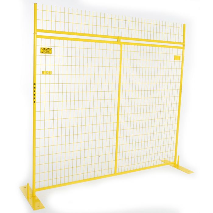 1ft. No-Climb Extension Panel, Yellow | Perimeter Patrol