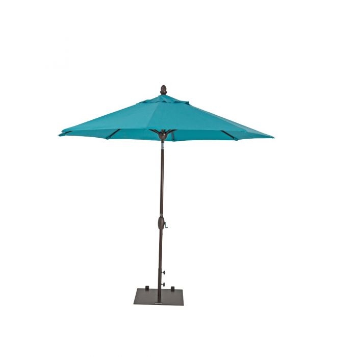 TrueShade Plus 9' Market Umbrella with Sunbrella® Fabric, Auto Tilt and Crank