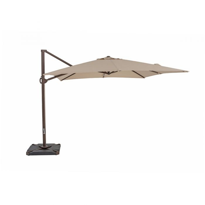 TrueShade Plus 10' x 10' Cantilever Umbrella
