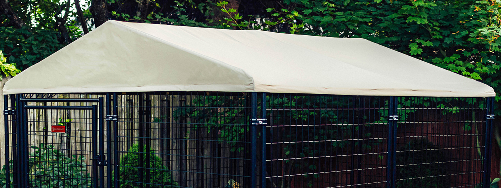 Lucky Dog Canopy Executive Kennel Cover