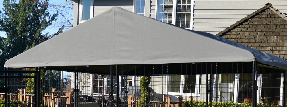 Lucky Dog Canopy Presidential Kennel Cover